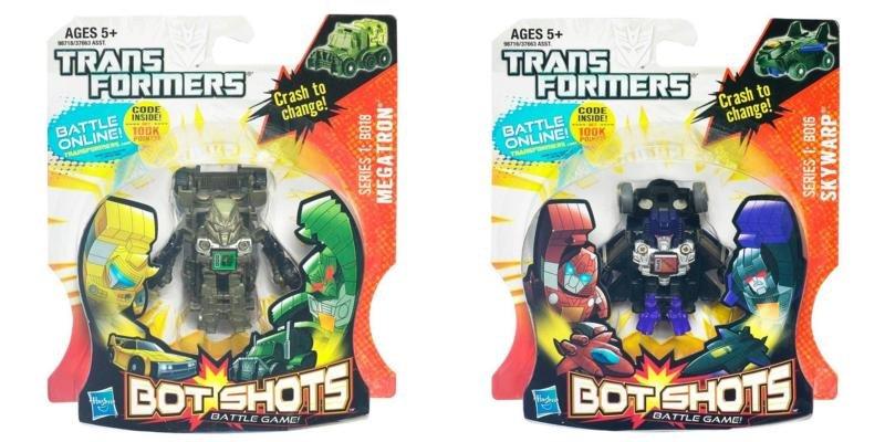 Blog 229 toy reviews transformers bot shots wave 5 for Shot bot lighting