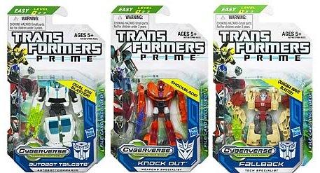 Blog 242 Toy Reviews Transformers Prime Cyberverse