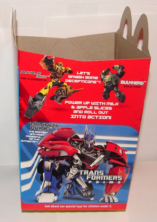 Blog #314: Toy Review: Transformers Prime McDonald's Toys ...