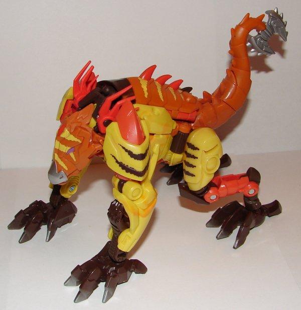 Transformers Prime LAZERBACK Beast Hunters Deluxe