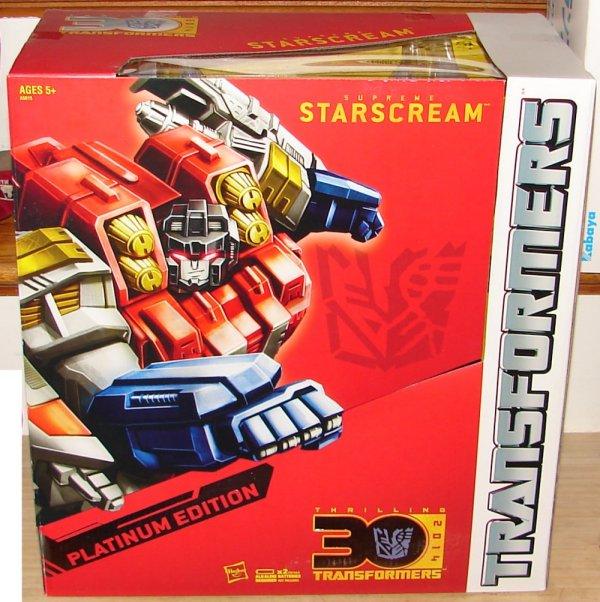 Edition Platinum: Blog #545: Toy Reviews: Transformers Platinum Edition Year