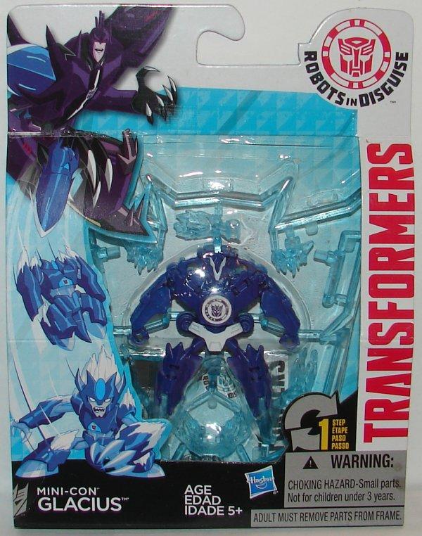 Transformers Robots in Disguise Set 3 Jetstorm Ransack MiniCon Hasbro Glacius
