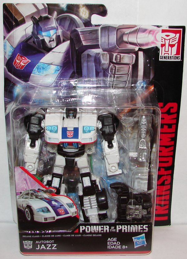 POWER OF THE PRIMES  NEW Transformers 2018 Generations Deluxe Class JAZZ